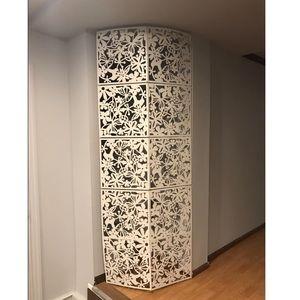 DIY Hanging Room Divider PVC 12 PCS Panels Screen
